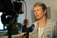 Analysiert ihre Wahlniederlage: CVP-Nationalratskandidatin Frieda Steffen. (Bild: Urs Hanhart)