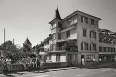 Sursee - Korporationsgemeinde, Oberstadt 24-26, von 1985. (Bild: Bruno Meier)