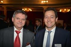 Bruno Vonwil mit Roland Jungo, Emmen Center.
