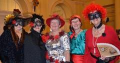 Brigitte Gentili, Martha Wicki, Rita Lohri, Liselotte Suppiger und Brigitte Hofstetter (Bild: Claudia Surek)