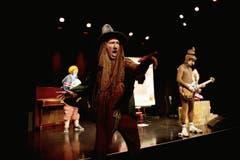 Kleintheater Luzern feiert sein Eröffnungsfest. (Bild: Corinne Glanzmann)
