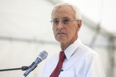 Ansprache von Jean-Daniel Gerber, Präsident der Schweizerischen Gemeinnützigen Gesellschaft SGG. (Bild: Keystone)