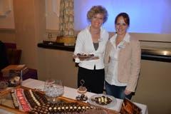 Die charmante Vertretung von Aeschbach Chocolatier.