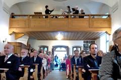 Die Kapelle bietet rund 120 Personen Platz. (Bild: Nadia Schärli (Neue LZ))