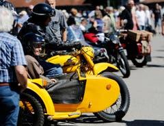 Auch Motorräder waren mit dabei. (Bild: Stefan Kaiser (Neue ZZ))