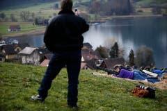 Impression vom Morgartenschiessen in Oberägeri. (Bild: Stefan Kaiser)