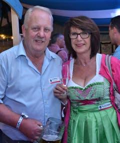 Marie-Theres und Urs Wolfisberg waren erstmals am Fest. (Bild: Claudia Surek)