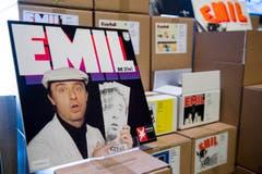 """Eine Schallplatte von """"Emil - Die 2(te)"""". (Bild: Keystone)"""