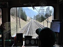 «Vertrauen ist gut, Kontrolle ist besser.» Ganz klar, hier in der Vitznau-Rigi-Bahn hat man alles im Griff. (Bild: Margrith Imhof-Röthlin)