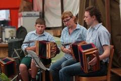 Musikalische Unterhaltung am 1. August in Engelberg. (Bild: Roger Zbinden)