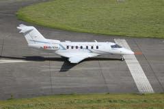 Der PC-24 auf dem Rollfeld des Buochser Flugplatzes. (Bild: Pilatus Aircraft Ltd)