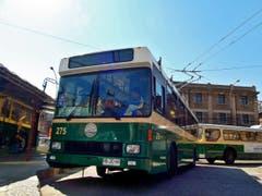 Die Busse aus Luzern fahren jetzt wortwörtlich grün. (Bild: Samuel Fuentes, Valparaiso)