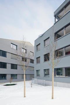 Wohnbauten AWZ, Oberägeri (Seestrasse, Silbergasse) - Graber & Steiger Architekten, 2011. (Bild: Baudirektion Kanton Zug)