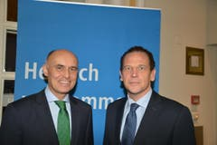 Wolfgang Bliem (links) und Philipp Albrecht, Casino.