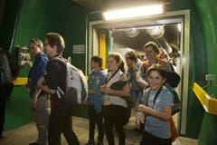 Über 400 Personen waren im Zug. (Bild: Keystone)