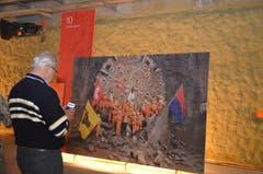 Vor dem Foto das um die Welt ging: Durchstich der Tunnelröhre. (Bild: Antonio Russo)