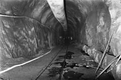 Der Tunnel ist eingleisig und verfügt über zwei automatische Kreuzungsstationen. Er unterquert in einem weit nach Süden ausholenden Bogen den Pizzo Rotondo, nach dem auch eine der Ausweichstellen benannt ist. (Bild: Keystone / Str)