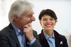 Emil Steinberger und seine Frau Niccel. (Bild: Keystone)