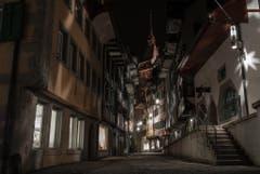 Altstadt Zug bei Nacht (Bild: Valentin Burkart)