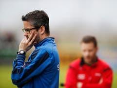 Cham-Trainer Marco Spiess. (Bild: Stefan Kaiser / Neue ZZ)
