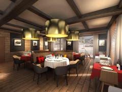 Ein Blick ins neue Restaurant (Bild: PD)