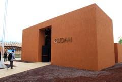 Der sudanesische Pavillion von aussen. (Bild: STEFANO PORTA)