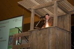 Der neue Präsident von Revierjagd Luzern, Peter Küenzi aus Kriens, leitete zum ersten Mal die Generalversammlung. (Bild: Ramona Meyer-Stöckli)