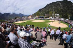 Über 2000 Zuschauer verfolgten das Geschehen in Altdorf. (Bild: Urs Hanhart / Neue UZ)
