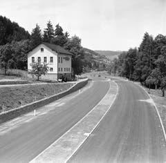 Im Juni 1955 sieht es an der gleichen Stelle so aus. (Bild: KEYSTONE/PHOTOPRESS-ARCHIV/Hermann Schmidli)