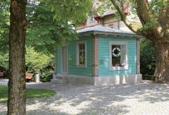 Kunstkiosk Baar (Robert Fellmann-Park) - Röösli Architekten AG, 2013. (Bild: Baudirektion Kanton Zug)