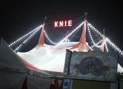 Der Cirkus gastiert auf dem Stierenmarktareal. (Bild: Stefan Kaiser / Neue ZZ)