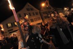 Eintrommeln in Altdorf. (Bild: Urs Hanhart / Neue UZ)
