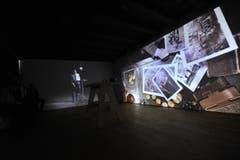 Im obersten Stock gibt es einen Multimediaraum. Dort wird die Tellgeschichte thematisiert. (Bild: Urs Hanhart (Neue UZ))