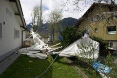 ..als vielmehr vom Winde zerstört. (Bild: Keystone)