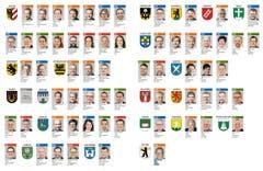 Diese 63 Personen politisieren ab Juni 2016 im Urner Landrat: (Bild: Neue UZ)
