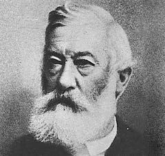 Joseph Zemp (CVP), Kanton Luzern, im Bundesrat von 1891 - 1908. (Bild: Archiv Neue LZ)