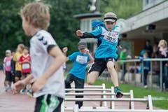Ein Sprint über die Hürden. (Bild: Pius Amrein / Neue LZ)