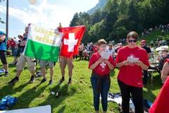 Rime ist auch Präsident des Schweizerischen Gewerbeverbandes (SGV). Er will sich in seiner Ansprache an die jungen Menschen wenden und eine Lanze für eine praxisnahe Berufsausbildung brechen. (Bild: Dominik Wunderli / Neue LZ)