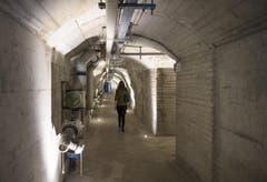 Eines dieser Datenzentren befindet sich in einem atombombensicheren ehemaligen Militärbunker in Attinghausen im Kanton Uri. (Bild: Keystone)