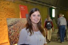Sarah Troxler von den SBB war für die perfekte Organisation der Abopass-Leserreise mit dem Gottardino zuständig. (Bild: Antonio Russo)