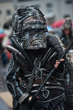 Räbedibäms Hochdorf mit dem Motto Alien. (Bild: Boris Bürgisser / Neue LZ)