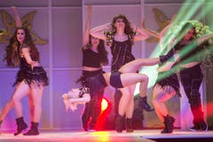 Auch heisse Tanzeinlagen fehlten nicht. (Bild: KEYSTONE/Ennio Leanza)