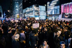 US Presidential Election.. Protest (Bild: Keystone)