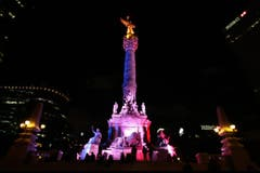 Das Unabhängigkeitsdenkmal in Mexiko-Stadt. (Bild: EPA/MARIO GUZMAN)