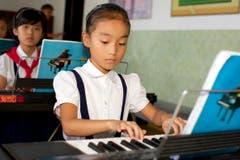 Einblick in eine Schule in Pyongyang. (Bild: Martin von den Driesch)