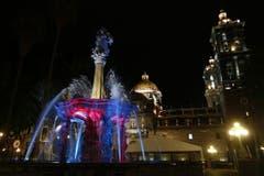 Der San-Miguel-Brunnen in Puebla. (Bild: EPAFRANCISCO GUASCO)