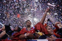 Grosse Freude in Chicago bei der Wahlparty. (Bild: Keystone)