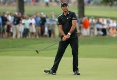 Ebenso am Zuckerhut nicht am Start sind die ersten vier der Golf-Weltrangliste: der Australier Jason Day (Bild), Dustin Johnson und Jordan Spieth aus den USA sowie der Nordire Rory McIlroy. (Bild: AP / Tony Gutierrez)