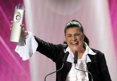 Cecilia Bartoli gewinnt den SwissAward in der Kategorie Kultur. (Bild: Keystone)