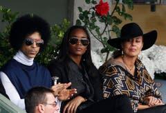 Prince 2014 bei den French Open in Paris. (Bild: Keystone)